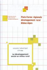 Le développement social en milieu rural